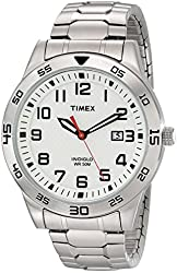 Timex Men's TW2P614009J Main Street Sport Silver-Tone Stainless Steel Watch With Expansion Band