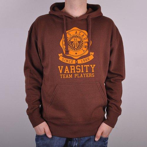 Varsity Team Players SOPHMORE Men's Hoodie - Chocolate - X Large