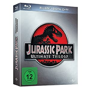 Jurassic Park Ultimate Trilogy (limitierte Edition im Schuber) (Blu-ray)