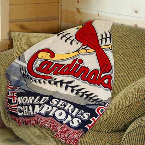 Check Out St Louis Cardinals 40 World Series Champs Throw Blanket Cool St Louis Cardinals Throw Blanket