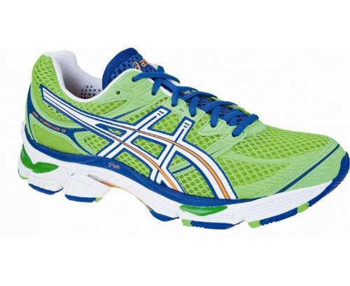 Asics Gel-Cumulus 13 Men Laufschuhe neon green-white-royal - 44,5