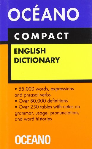 Diccionario Oceano Compact English Dictionary/ Oceano Compact English Dictionary