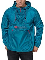 Geographical Norway Chaqueta Impermeable Choupa (Azul Petróleo)