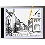 A4 Ultra-thin Portable LED Light Box tracer USB Power LED Artcraft Tracing Light Pad Light Box for Artists,Drawing, Sketching, Animation