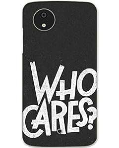 Hugo Micromax Canvas A1 Back Cover Designer Case