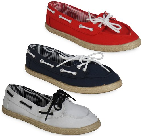 LoudLook Ladies Womens Espadrilles Canvas Girls Trainers Plimsoll Pumps Flat Shoes Size 3 4 5 6 7 8