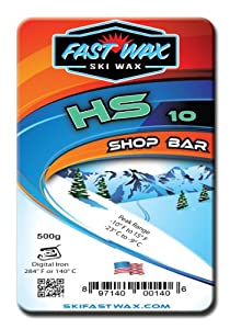 Fast Wax Hs-10 Sport Wax Shop Bar Teal 500G