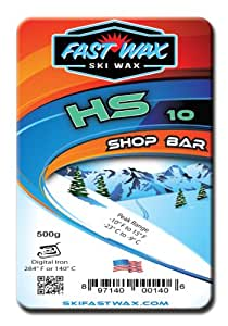 Fast Wax Hs-10 Sport Wax Shop Bar Teal 500G