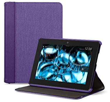 "Belkin Chambray Cover for Kindle Fire HDX (will only fit Kindle Fire HDX 7""), Purple"