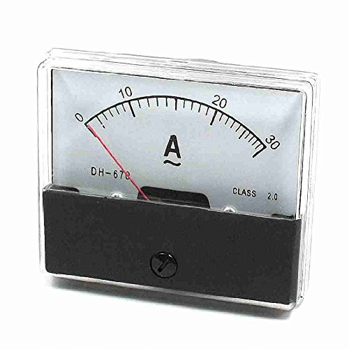 DH670 AC 0-30A Feinabstimmung Dial Stromtester-Panel Amperemeter
