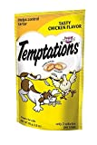 Whiskas Temptations Tasty Chicken Flavour Treats for Cats, 3-Ounce Pouches (Pack of 12)