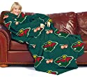 Minnesota Wild NHL (Adult) Fleece Comfy Throw