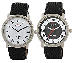 Evelyn Combo of Analogue Multi-Colour Dial Mens Watch - BW-047