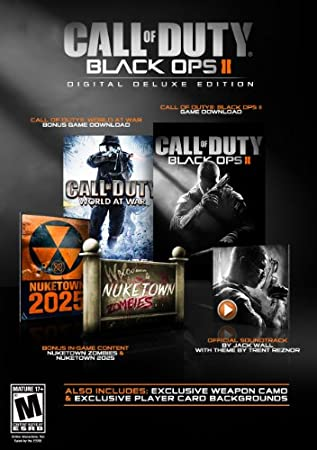 Call of Duty: Black Ops II Digital Deluxe Edition [Download] (With Amazon Instant Video Credit)