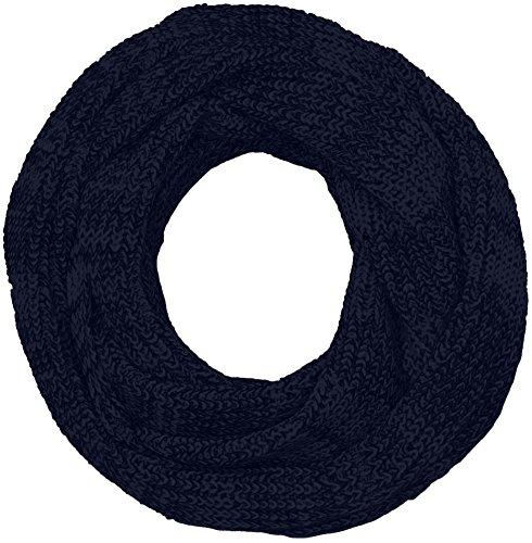 JACK & JONES Jacrib Knit Tube Noos, Sciarpa Uomo, Blu (Navy Blazer), Taglia Unica (Taglia Produttore: One Size)
