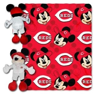 Cincinnati Reds Disney Hugger Blanket by Hall of Fame Memorabilia
