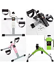 Gym Master Pedal Exerciser mini Exercise Bike with Digital Display(exercise time, cycles count, RPM & calories...