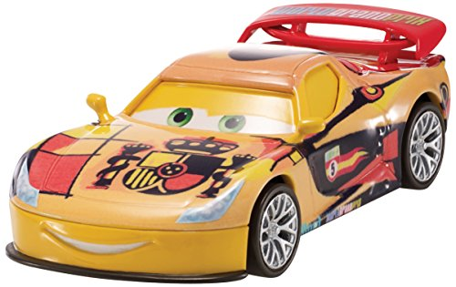 Disney/Pixar Cars, WGP (World Grand Prix) Die-Cast Vehicle, Miguel Camino #7/15, 1:55 Scale