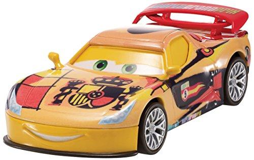 Disney/Pixar Cars, WGP (World Grand Prix) Die-Cast Vehicle, Miguel Camino #7/15, 1:55 Scale - 1