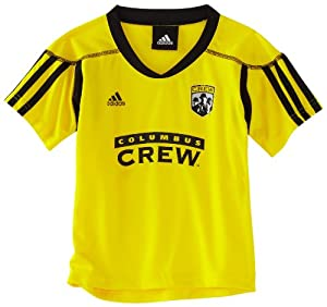 MLS Columbus Crew Blank Home Call Up Jersey, 4-7 Boys by adidas