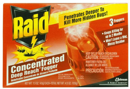 Raid 81590 3 Count Concentrated Deep Reach Fogger Import