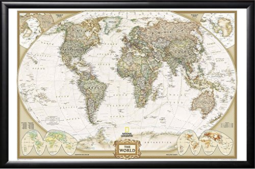 top 5 best framed world map for sale 2016 product boomsbeat. Black Bedroom Furniture Sets. Home Design Ideas