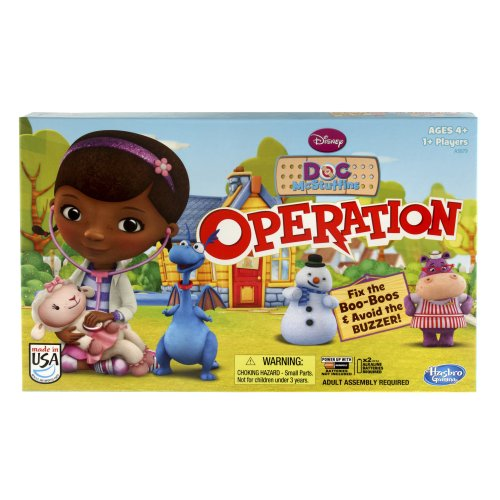 Disney Doc Mcstuffins Operation Game front-477846