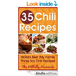 35 Chili Recipes - Kindle Cookbook