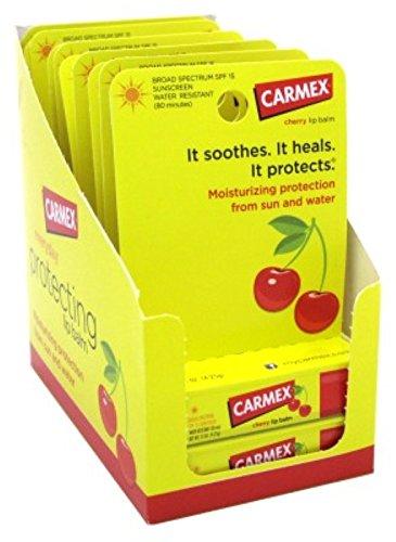 carmex-click-stick-moisturizing-lip-balm-spf-15-cherry-015-oz-pack-of-12