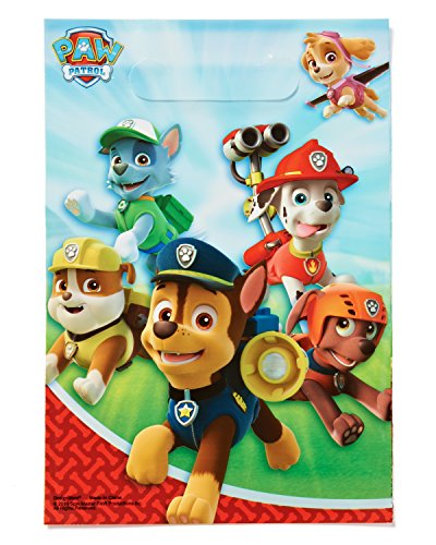 American Greetings PAW Patrol Treat Bags, Party Supplies (8 Count)