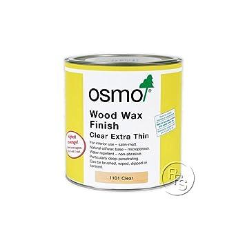 Wood wax finish clear extra thin