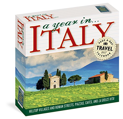 A Year in Italy Page-A-Day Calendar 2017 (Italian Days compare prices)