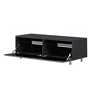Just Racks JRL1100S Black TV Stand