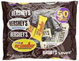 Hersheys Lovers Snack Size Assortment, 50 Count Bag