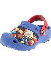crocs Boys' CC Marvel Super Hero Squad Clog