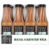 Pure Leaf Bottles, Peach, 18.5 Ounce Bottles (Pack of 12)
