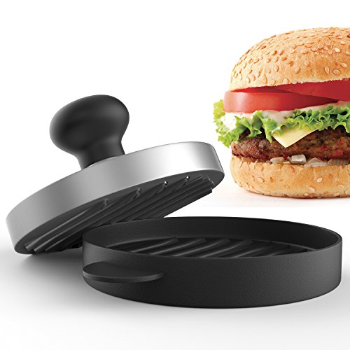 Planet Homeware Burger Press - Premium Hamburger Patty Maker - For Stuffed, Sliders and Regular Burgers - For Bacon, Sausage and Hamburgers - Durable, Makes Perfect Patties Every Time