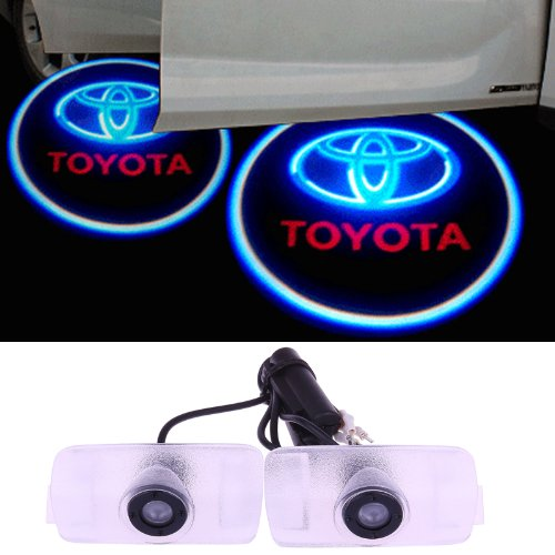 Sunsbell Car Projection Light Led Door Welcome Ghost Shadow Light Logo For Toyota