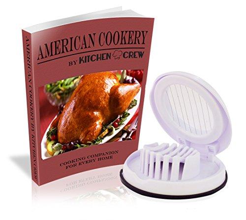 Egg Slicer - Best Compact Kitchen Gadget - New Professional Chef Cook - White - Dishwasher Safe -