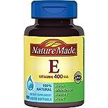 Nature Made Vitamin E, 400 IU, Liquid Softgels, 100 softgels