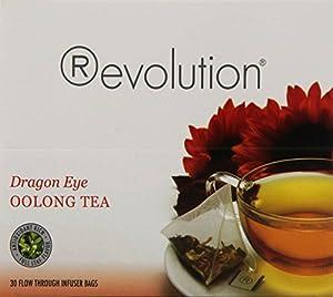 Revolution Tea Dragon Eye Oolong Tea, 30 Count from Revolution Tea