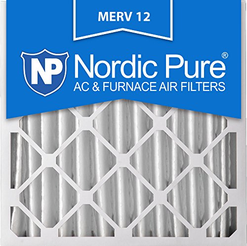Nordic Pure 20x20x4 AC Furnace Air Filters MERV 12, Box of 2 (Honeywell Fc100a1011 compare prices)