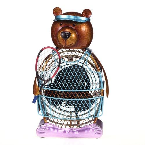 Deco Breeze Figurine Fan Bear, Tennis