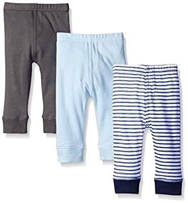 Luvable Friends Baby Boys' 3 Pack Ankle Pant by Luvable Friends Children's Apparel that we recomend personally.