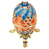 Design Toscano FH2030 Grand Duchess Faberge-Style Georgievna Enameled Egg