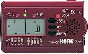 KORG チューナー 「調べ」 箏用 WT-30K