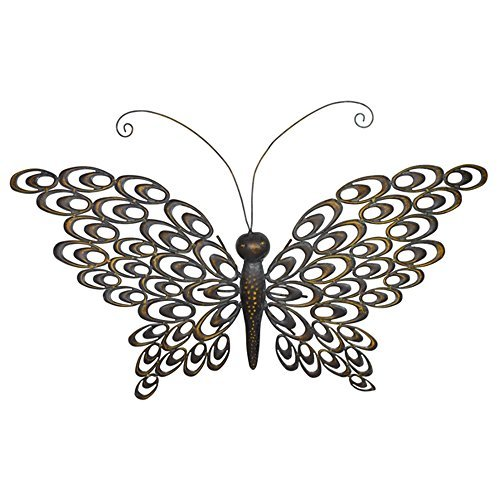 Grasslands Road Butterfly Sculpture Wall Plaque