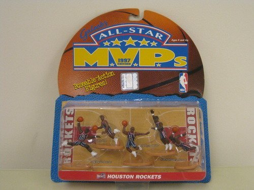 All Star MVP 1997 Houston Rockets Poseable Action Figures