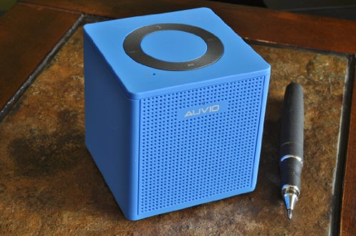 Auvio Portable Bluetooth 1.5 Watt Speaker-Blue