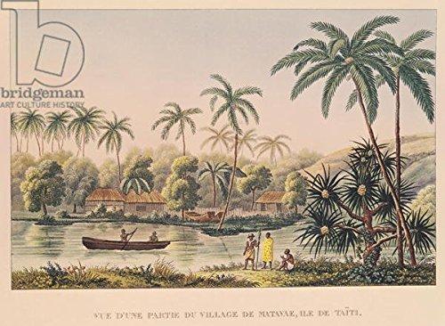 alu-dibond-bild-120-x-90-cm-village-of-matavae-tahiti-illustration-from-voyage-autour-du-monde-sur-l